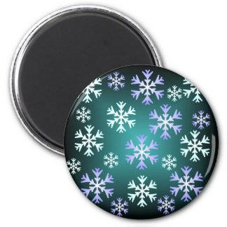 Christmas Snowflake Magnet