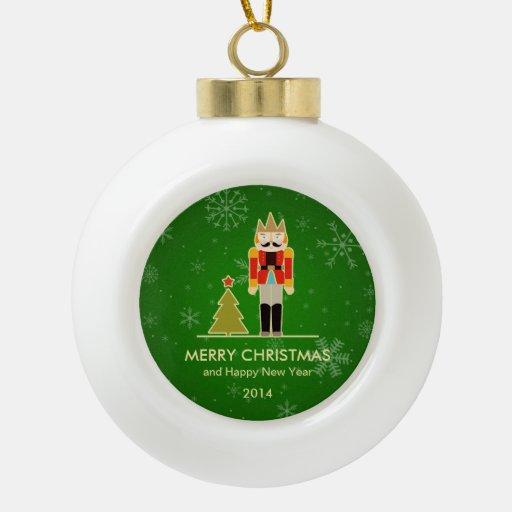 Christmas Snowflake - Nutcracker Holiday Greeting Ornament