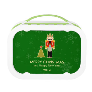 Christmas Snowflake - Nutcracker Holiday Greeting Yubo Lunch Boxes