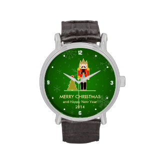 Christmas Snowflake - Nutcracker Holiday Greeting Wristwatch