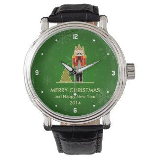 Christmas Snowflake - Nutcracker Holiday Greeting Wristwatches