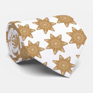 Christmas Snowflake Shapes  Gingerbread Cookie Tie