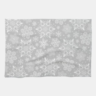 Christmas Snowflakes Hand Towels