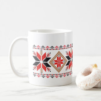Christmas Snowflakes Holiday Decorative Art Mug