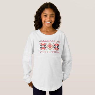 Christmas Snowflakes Holiday Decorative Art Tshirt Jersey Shirt