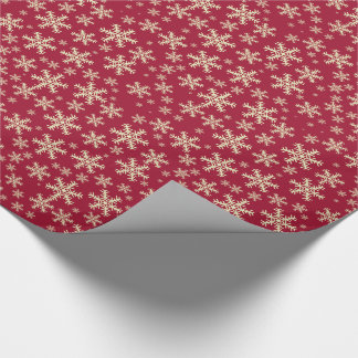Christmas Snowflakes Wrapping Paper