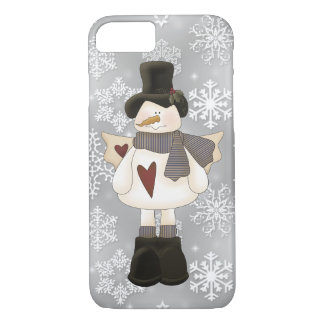 Christmas Snowman Angel iPhone 7 barely there case