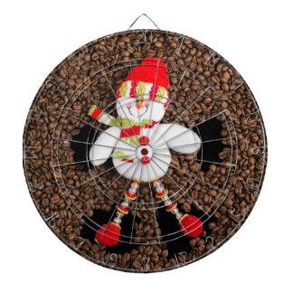 Christmas snowman decoration dartboard