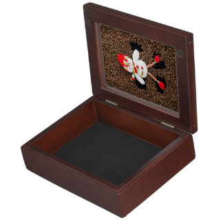 Christmas snowman decoration keepsake box