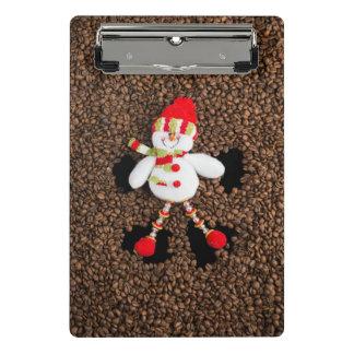 Christmas snowman decoration mini clipboard