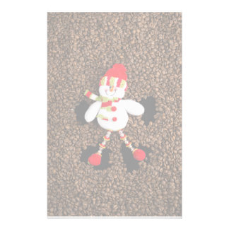 Christmas snowman decoration stationery
