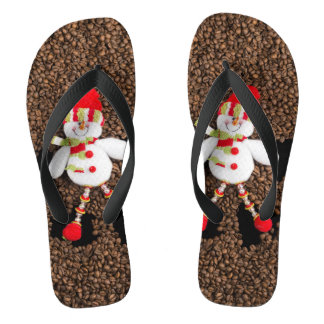 Christmas snowman decoration thongs
