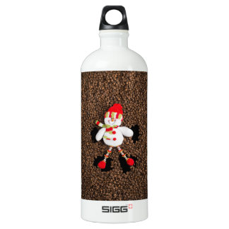 Christmas snowman decoration water bottle