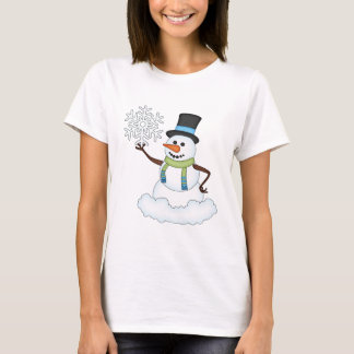 Christmas Snowman Holiday Cartoon t-shirt
