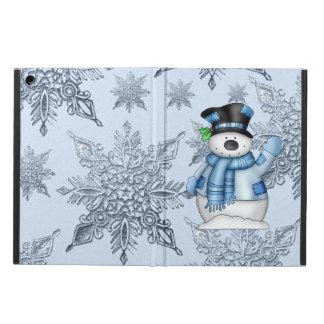 Christmas Snowman Holiday iPad Air case