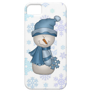 Christmas Snowman iPhone5 case mate barely there