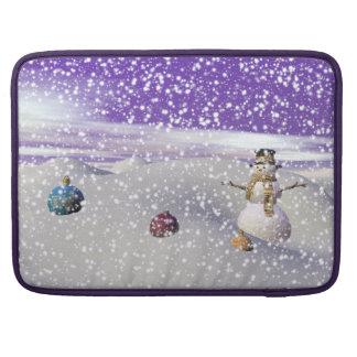 christmas snowman sleeve for MacBooks