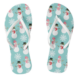 Christmas Snowmen Thongs