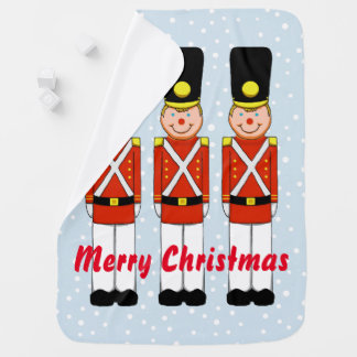 Christmas Soldier Christmas Baby Blanket