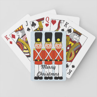 Christmas Soldier Playing Cards