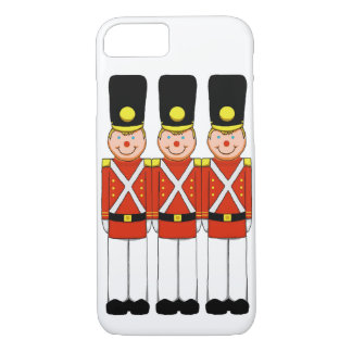 Christmas Soldiers Cell Phone Case