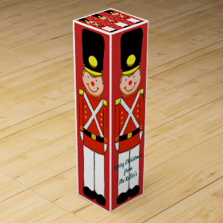 Christmas Soldiers Wine Box