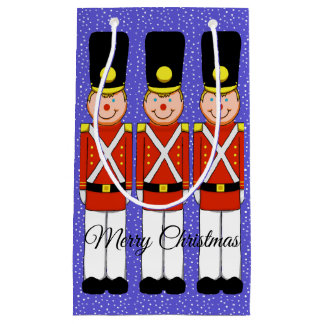Christmas Soldiers with Snow Gift Bag
