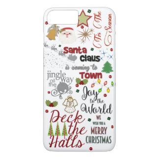 Christmas Song Design Phone Case