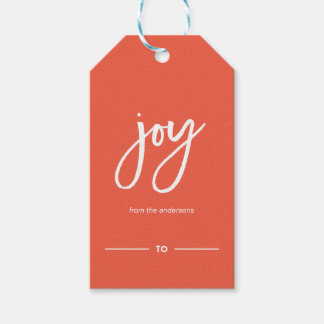 Christmas Sparkles Festive Typography Gift Tag