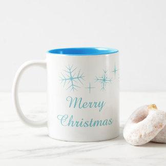 Christmas Sparkling Snowflake Mug