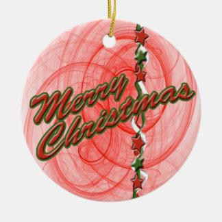 Christmas Spirals & Stars Ornaments