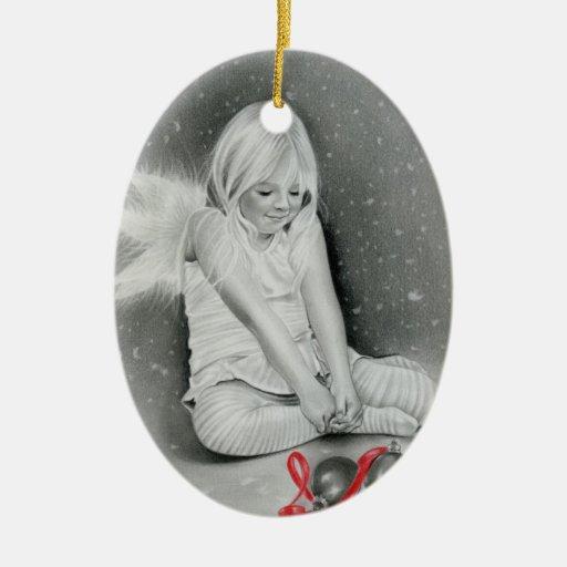Christmas spirit angel Ornament