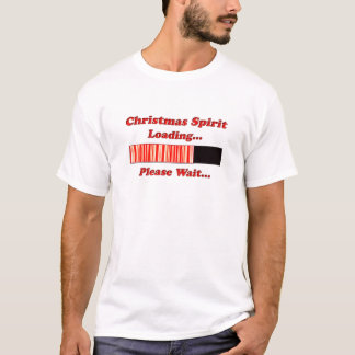 Christmas Spirit Loading T-Shirt