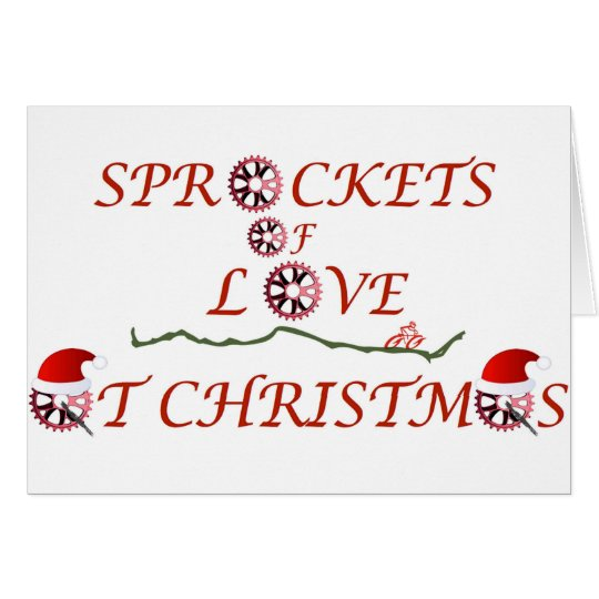 Christmas Sprockets of Love Card