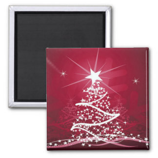 CHRISTMAS SQUARE MAGNET