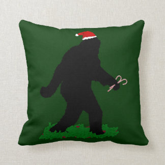 Christmas Squatchin' Cushion