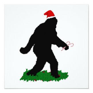 Christmas Squatchin' Invitations