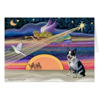 Christmas Star - Australian Cattle Dog Greeting Card