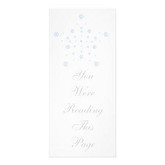 Christmas Star Bookmark Template Full Colour Rack Card