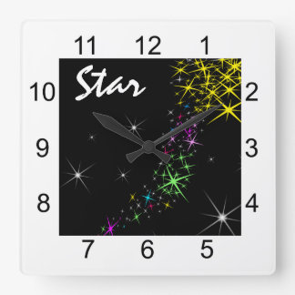 Christmas Star Clocks