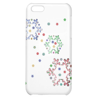 Christmas Star Flakes iPhone 5C Case