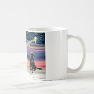 Christmas Star - Flat Coated Retriever Coffee Mug