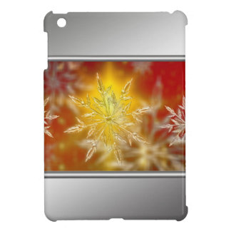Christmas star golden decoration iPad mini covers