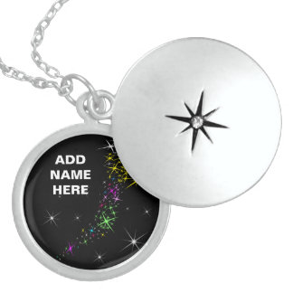 Christmas Star Locket Necklace