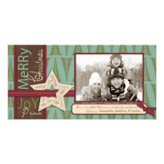 Christmas Star Photo Card