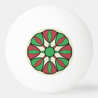 Christmas Star Ping Pong Ball