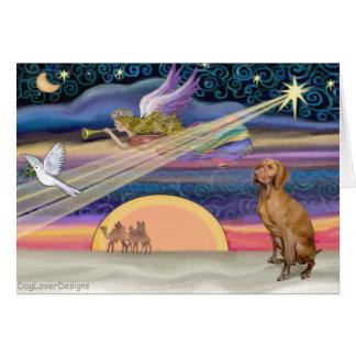 Christmas Star - Viszla 1 Card