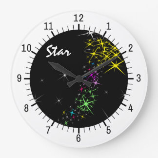 Christmas Star Wallclocks
