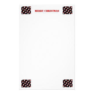 Christmas Stationary Stationery Paper