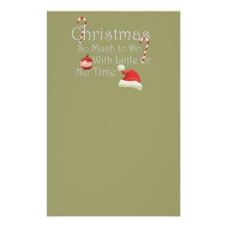 Christmas Custom Stationery
